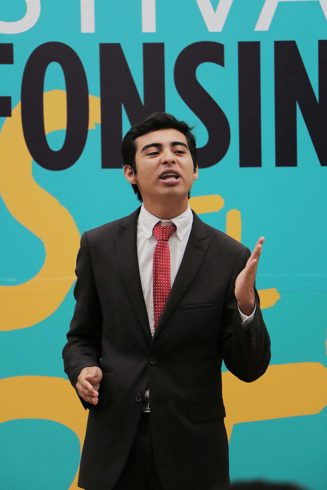 Gerardo Patiño Méndez, segundo lugar nivel facultades