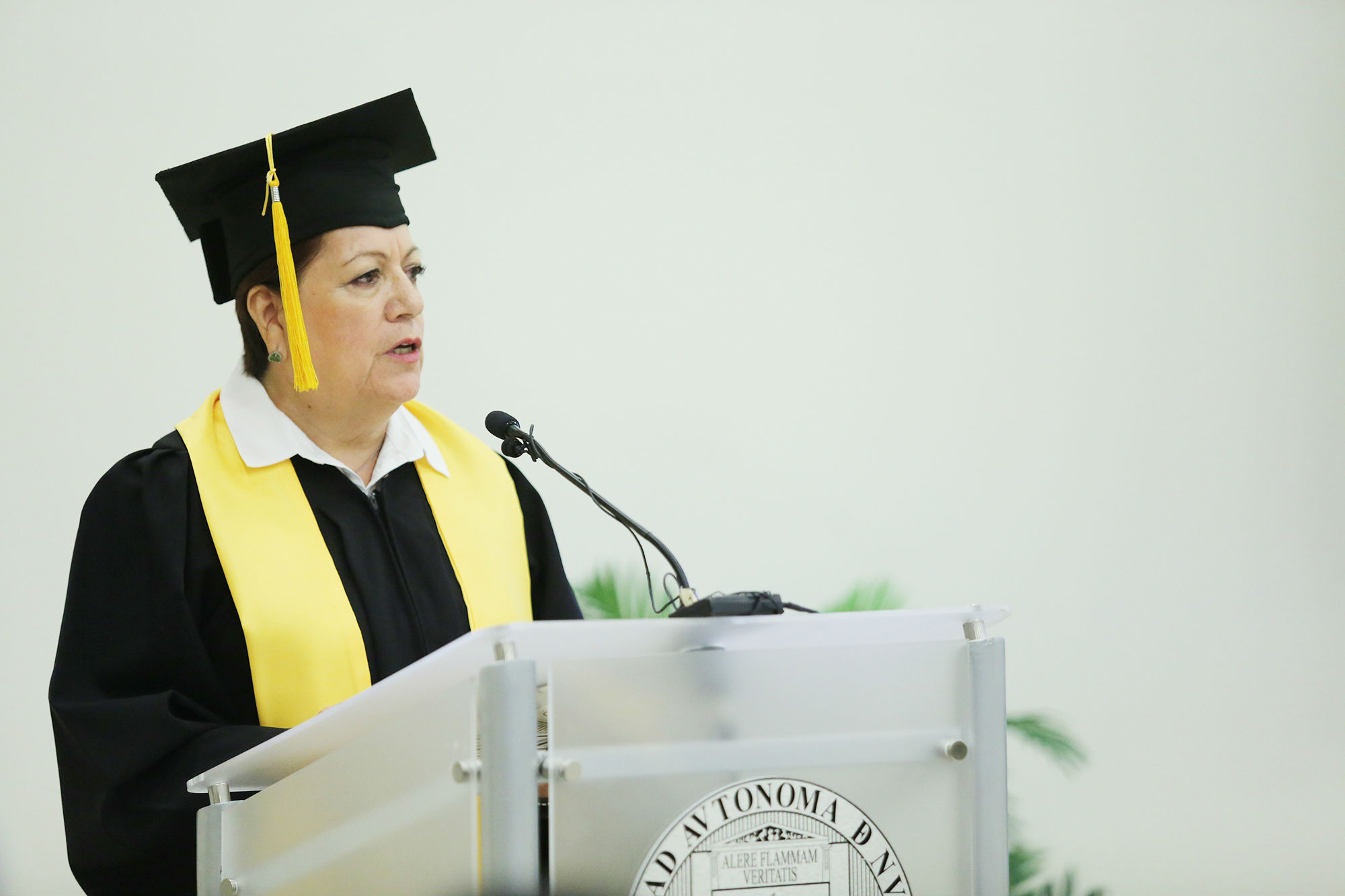 Discurso a nombre de los graduados