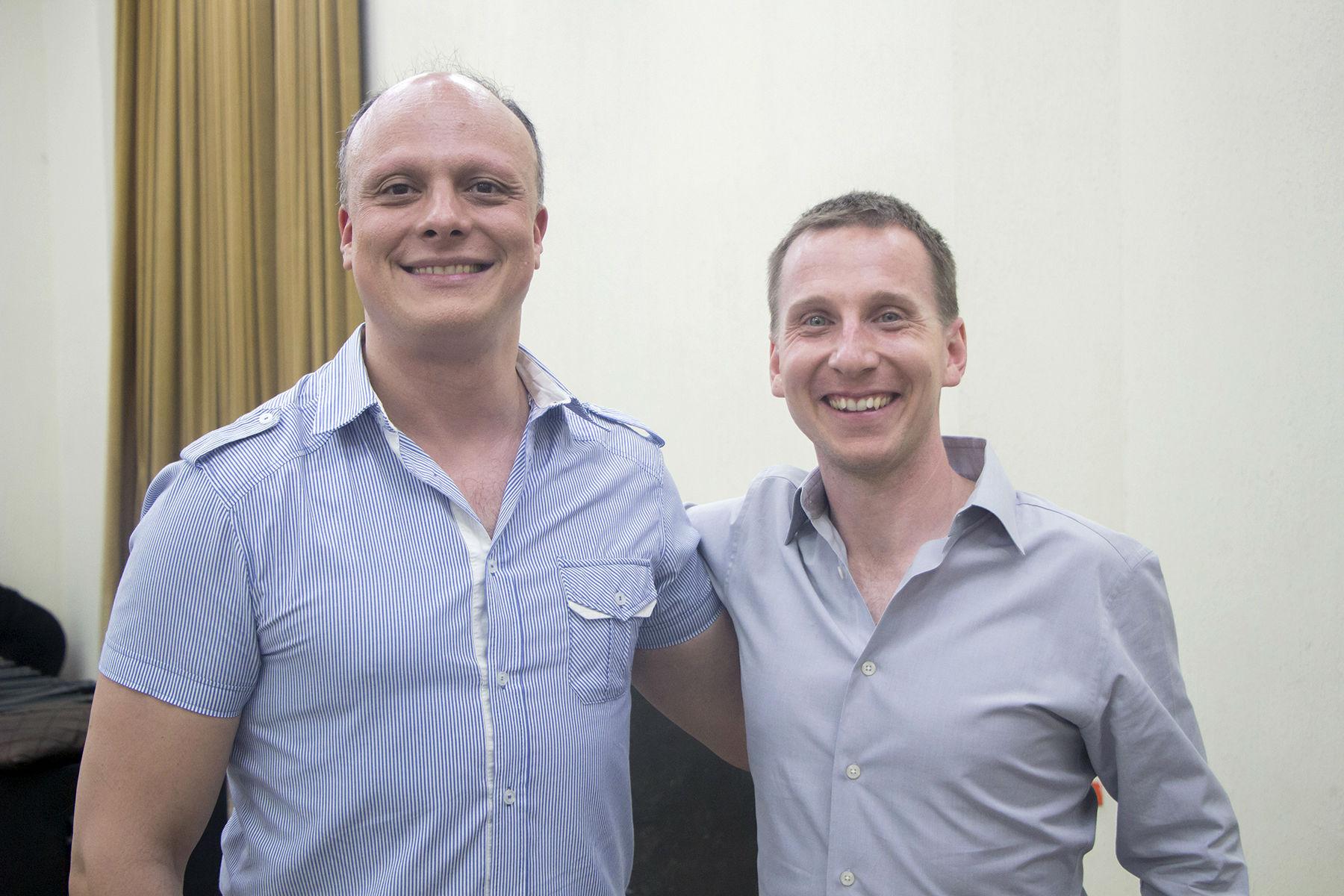 Grigor Palikarov y David Cooper, invitados de la OSUANL