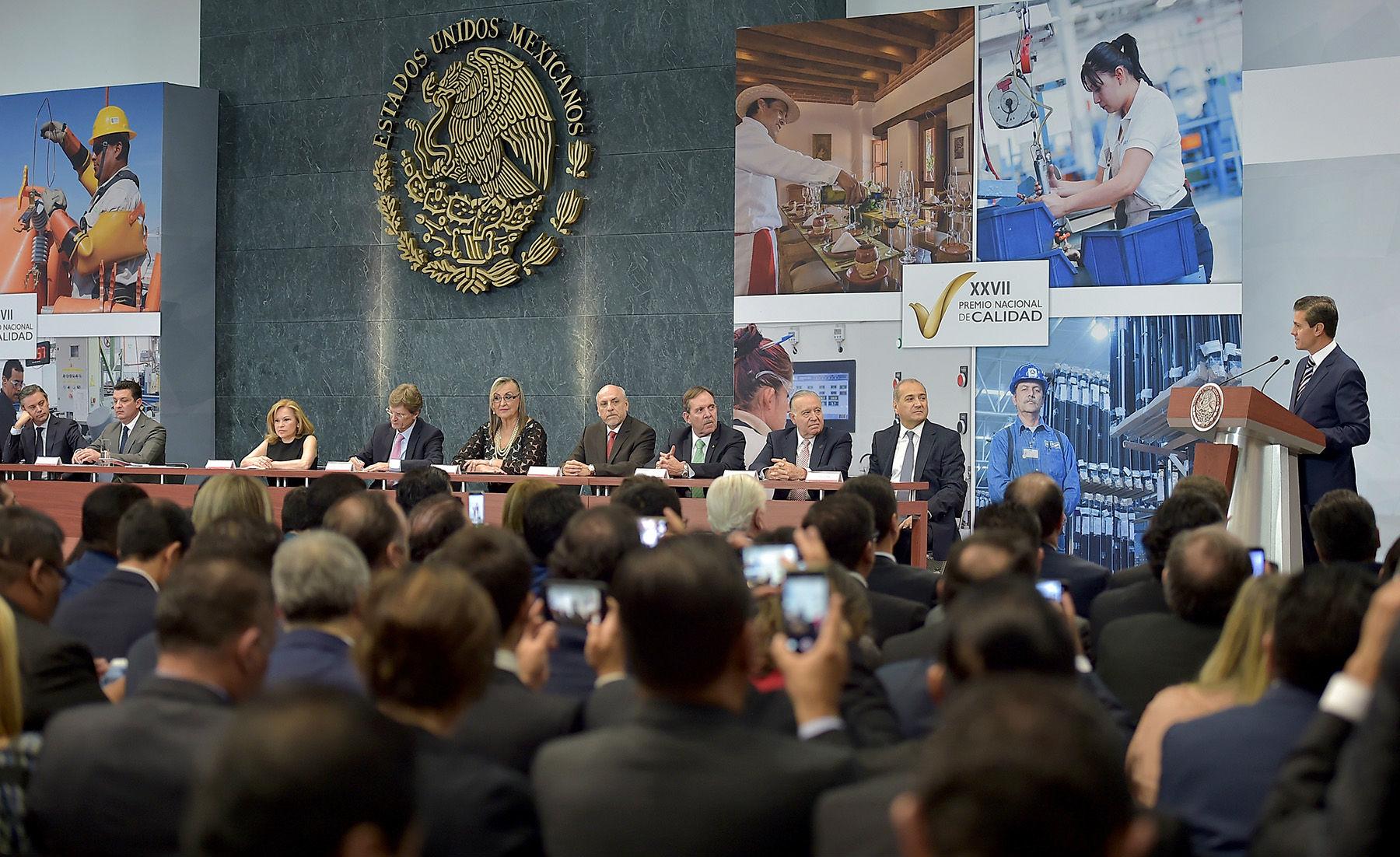 Mensaje del Presidente de México, Enrique Peña Nieto
