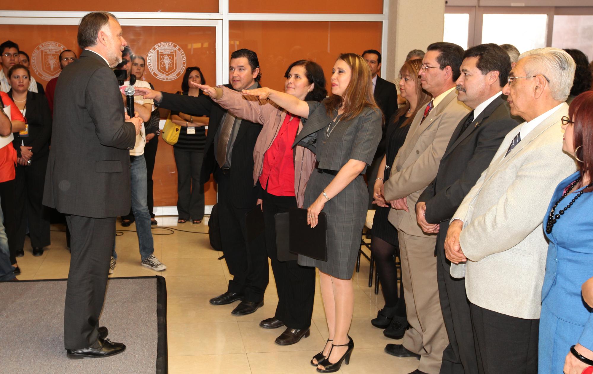 Ceremonia de toma de protesta de la Mesa Directiva AMC Noreste