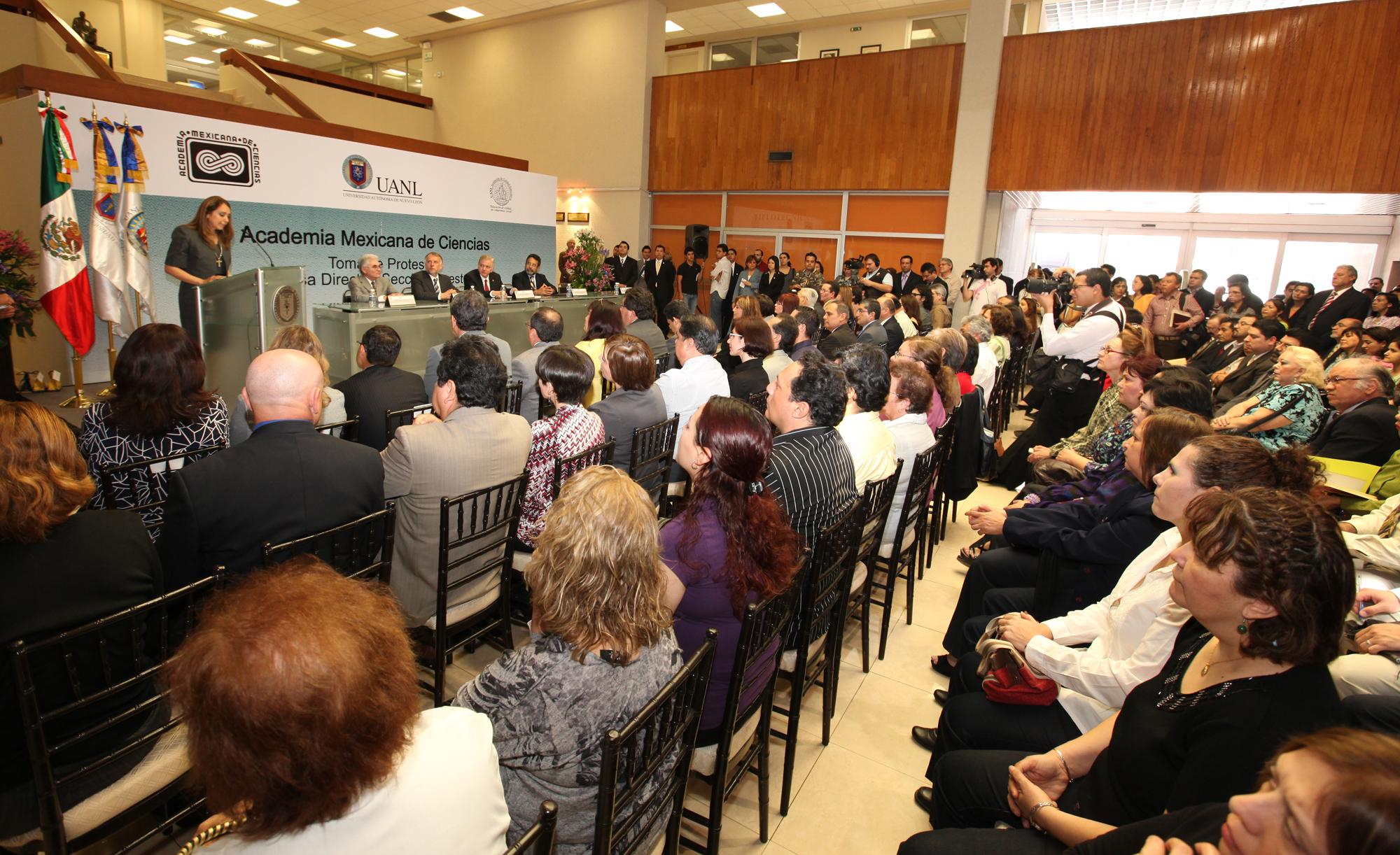 Mensaje de la Dra.Norma Laura Heredia, Presidenta de la Asociación Mexicana de Ciencias Región Noreste