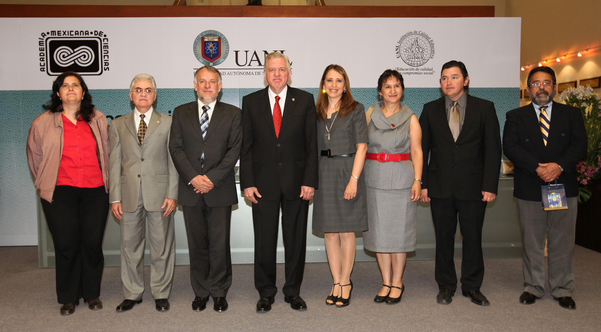 Los integrantes de la nueva Mesa Directiva Región Noreste