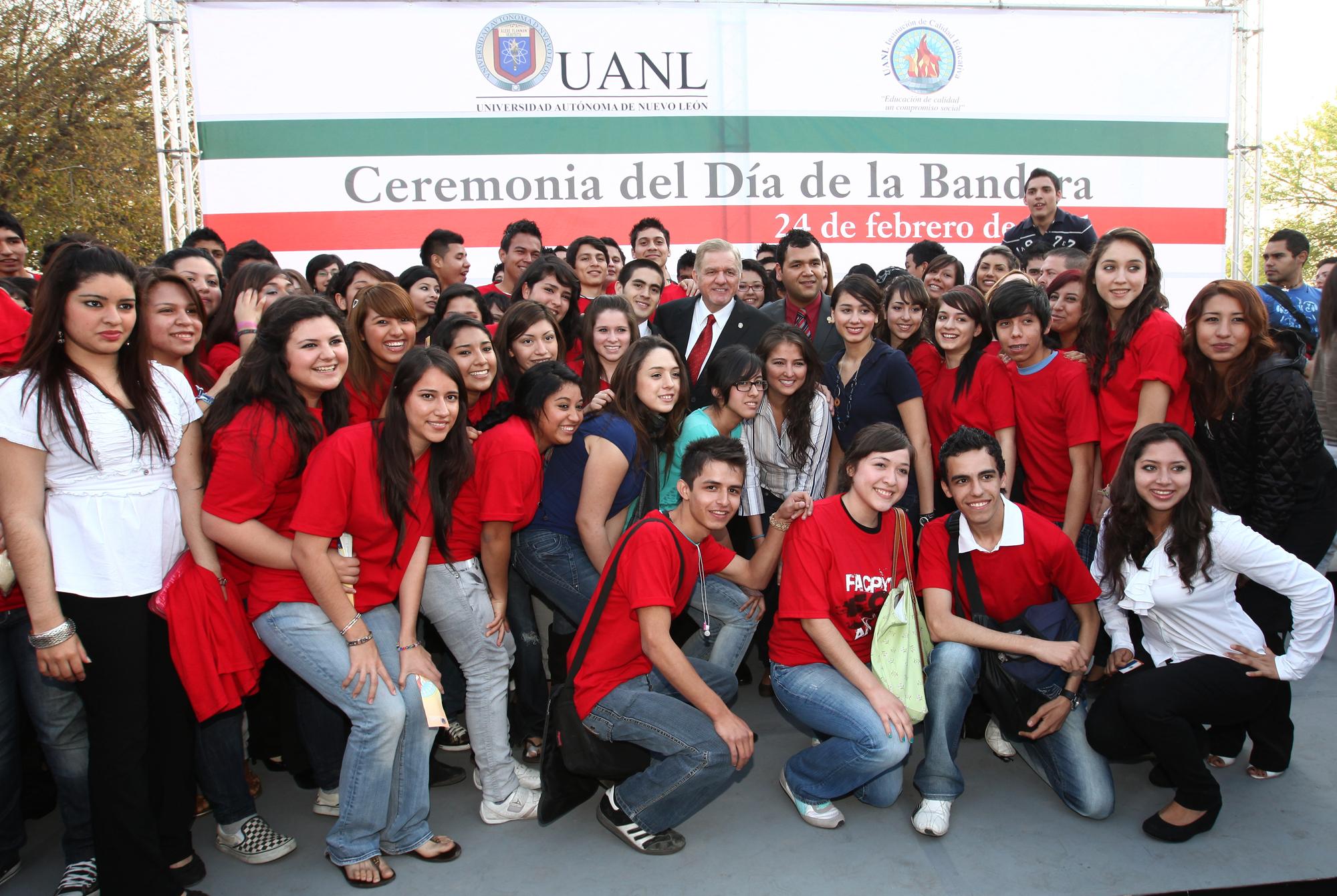 Estudiantes de la UANL