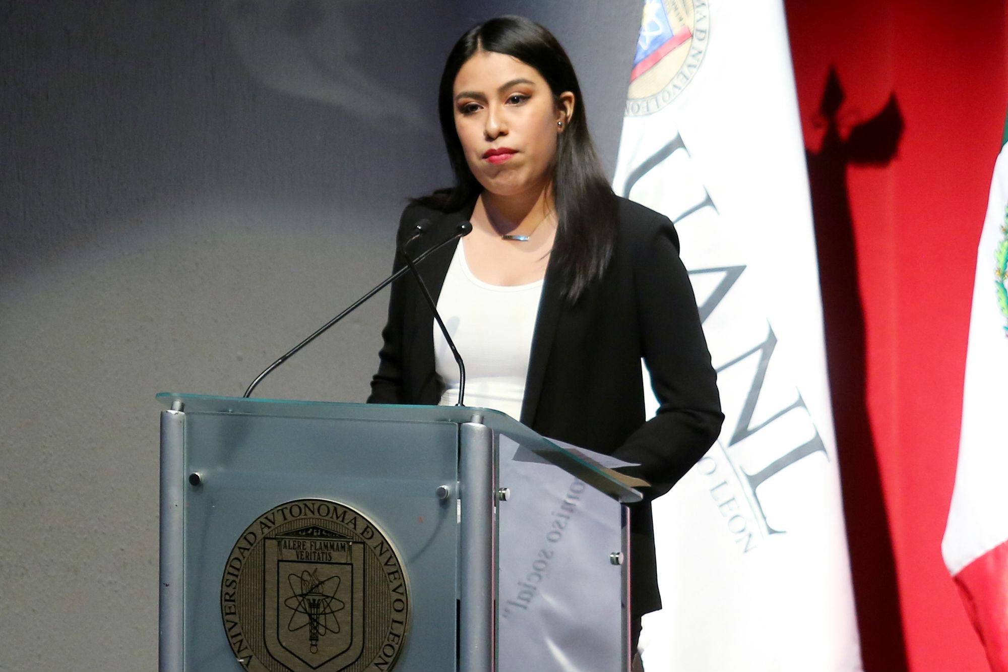 Verónica Cedillo Silva, de la Facultad de Ciencias Políticas y Administración Pública, habló sobre su intercambio a Corea del Su