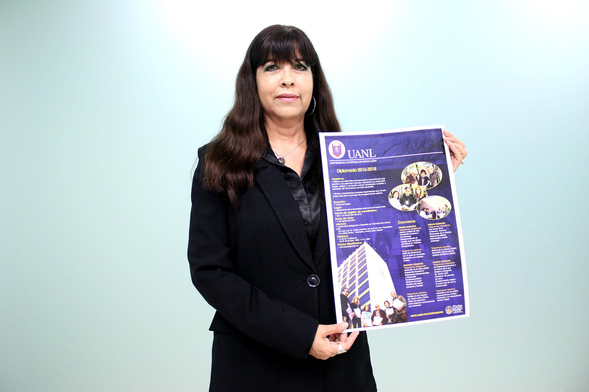 Mtra. Luz Amparo Silva Morín, coordinadora de Inclusión y Equidad Educativa Universitaria