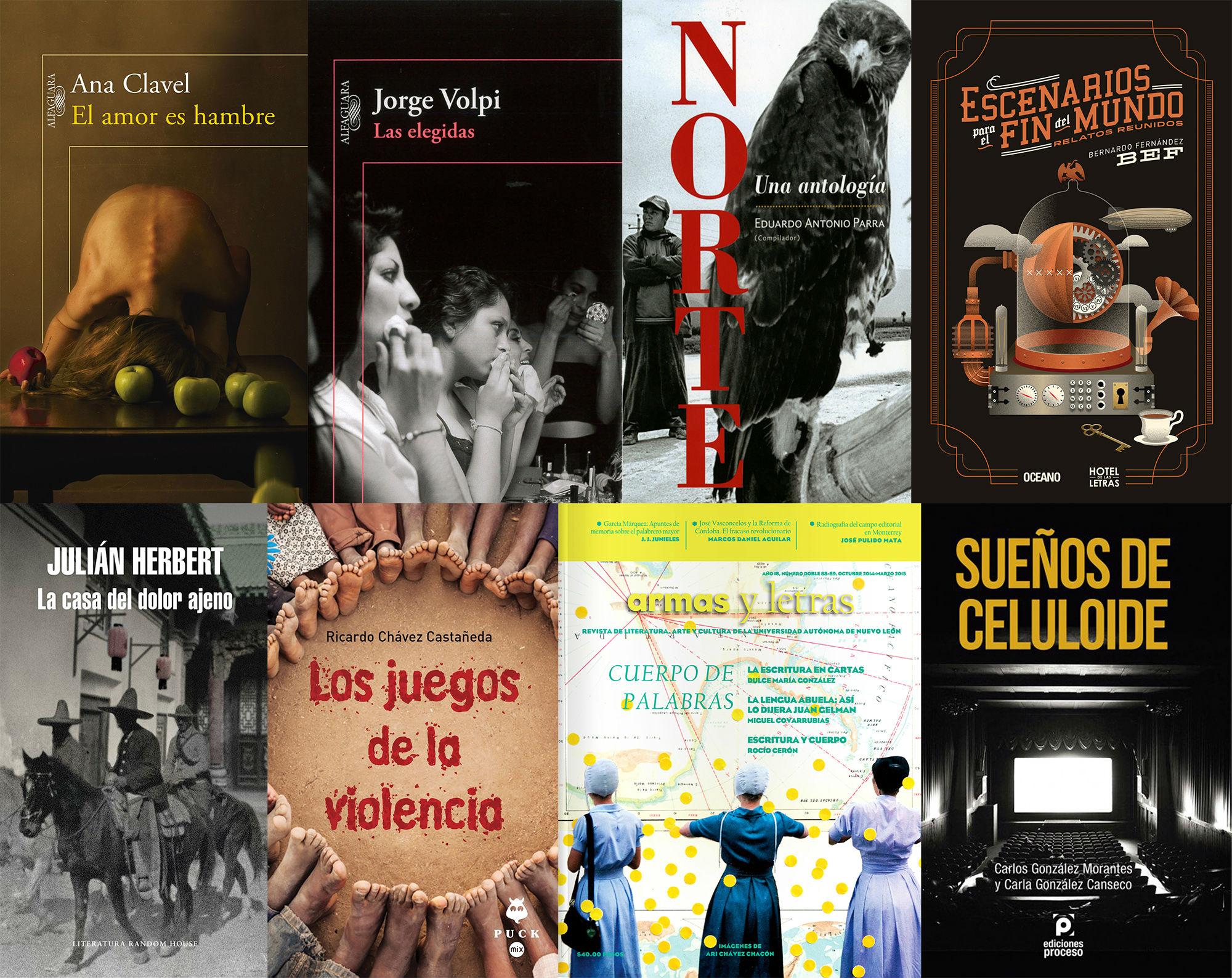 Algunos libros que se presentarán