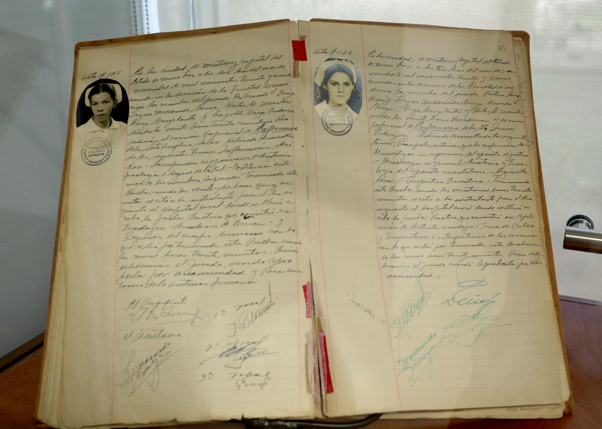 Registros de la Facultad de Enfermería