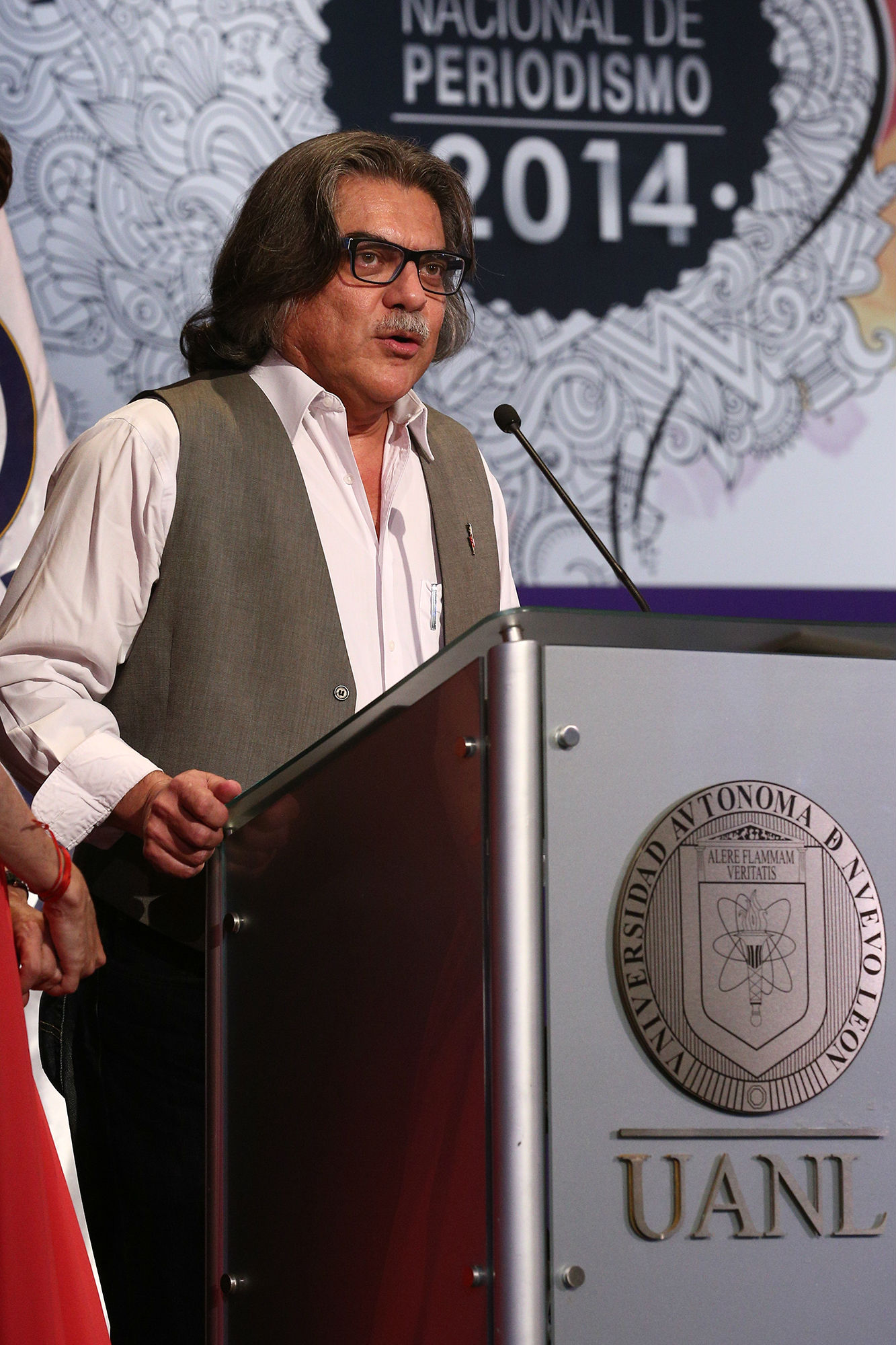 Manuel Falcón, Presidente del Jurado del Consejo Ciudadano del Premio Nacional e Periodismo