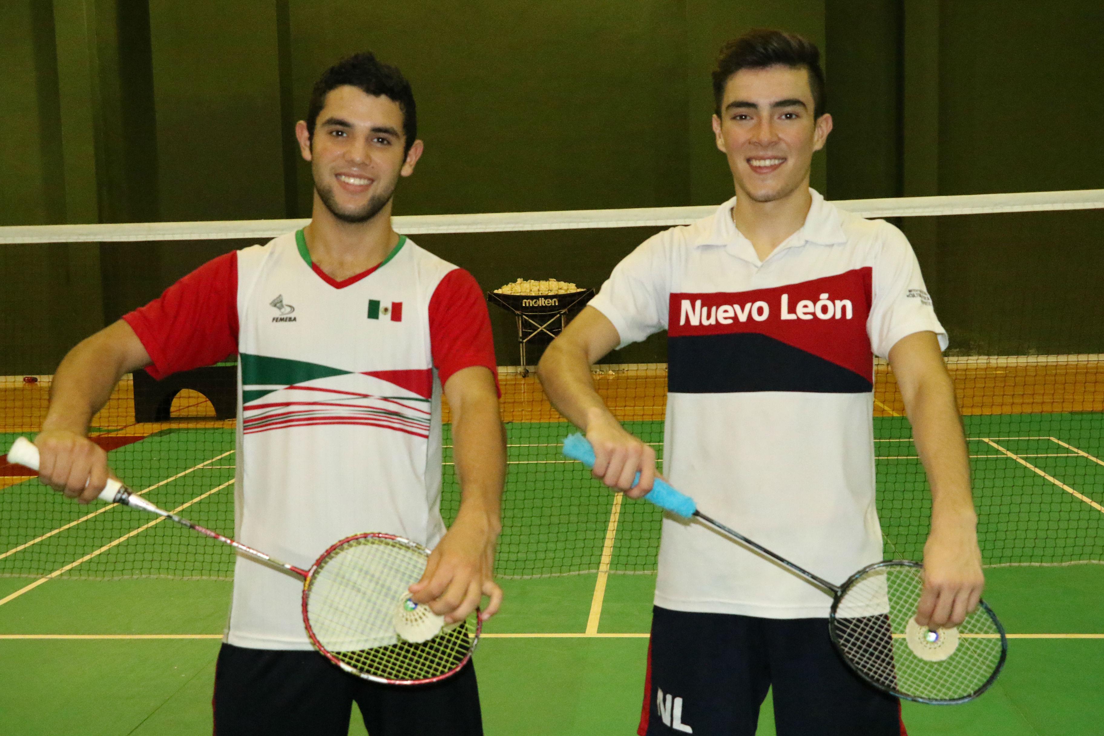 Ailton Correa (der) y Francisco Treviño