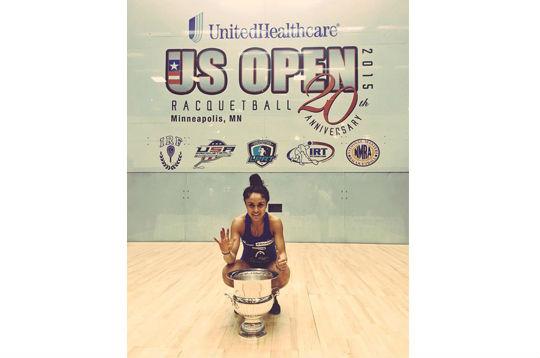 Paola Longoria, campeona del US Open