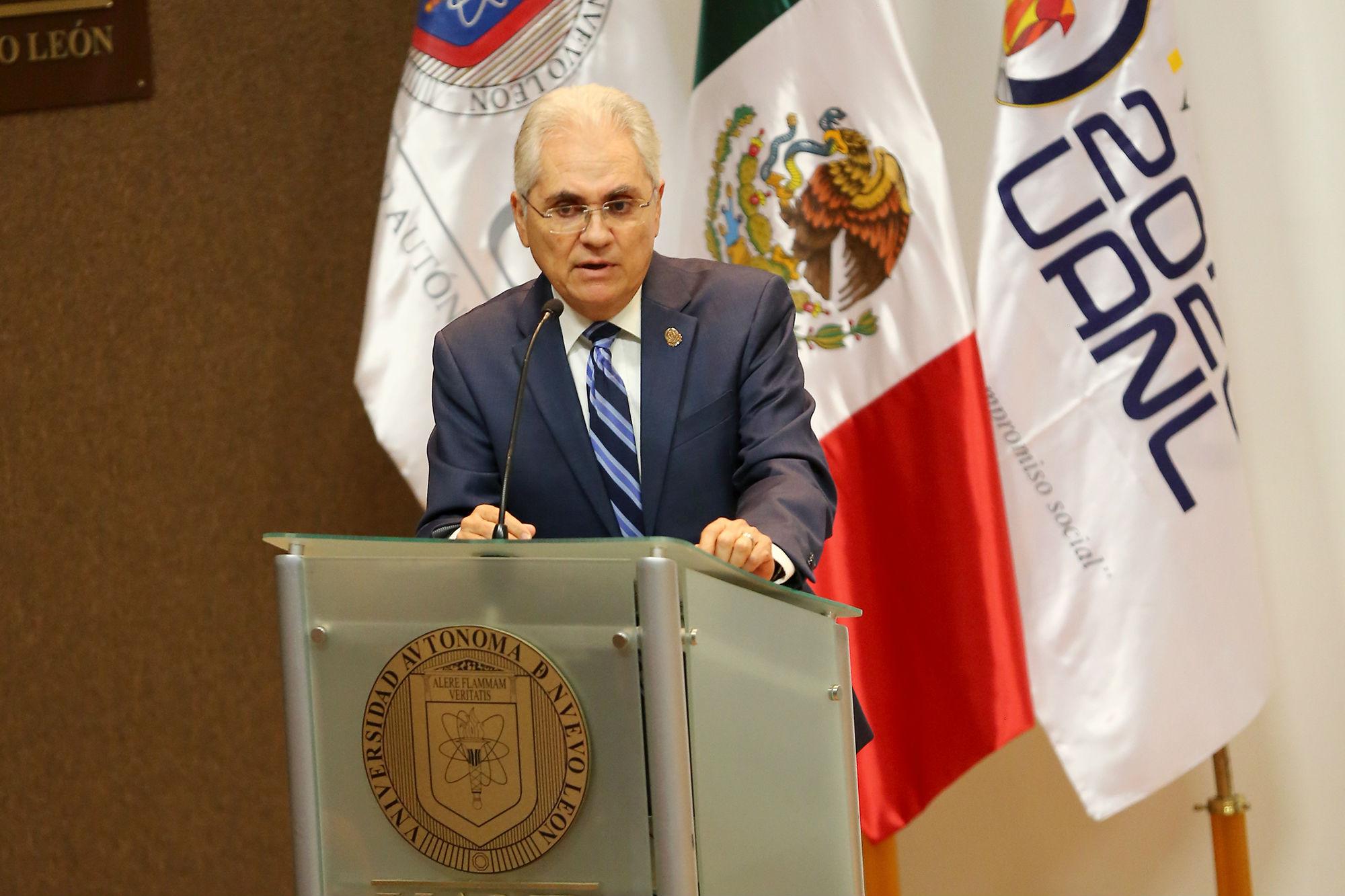 Palabras del Dr. Mario César Salinas Carmona, Secretario de Investigación, Innovación y Posgrado de la UANL