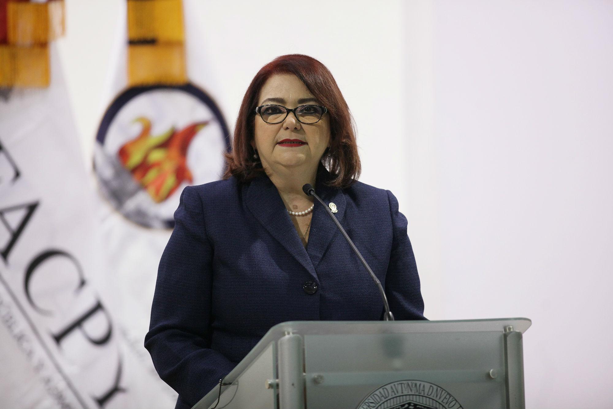 Mensaje de la directora de la Facultad de Contaduría Pública y Administración, María Eugenia García de la Peña