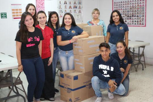 Grupo de alumnos de la Prepa 2