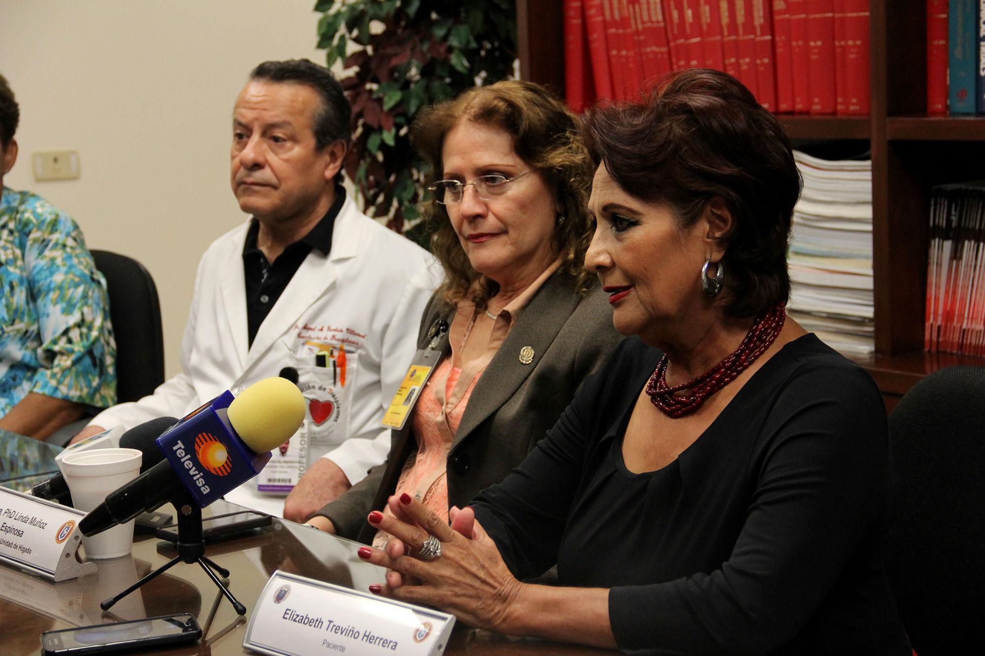 Testimonio de la paciente Elizabeth Treviño Herrera