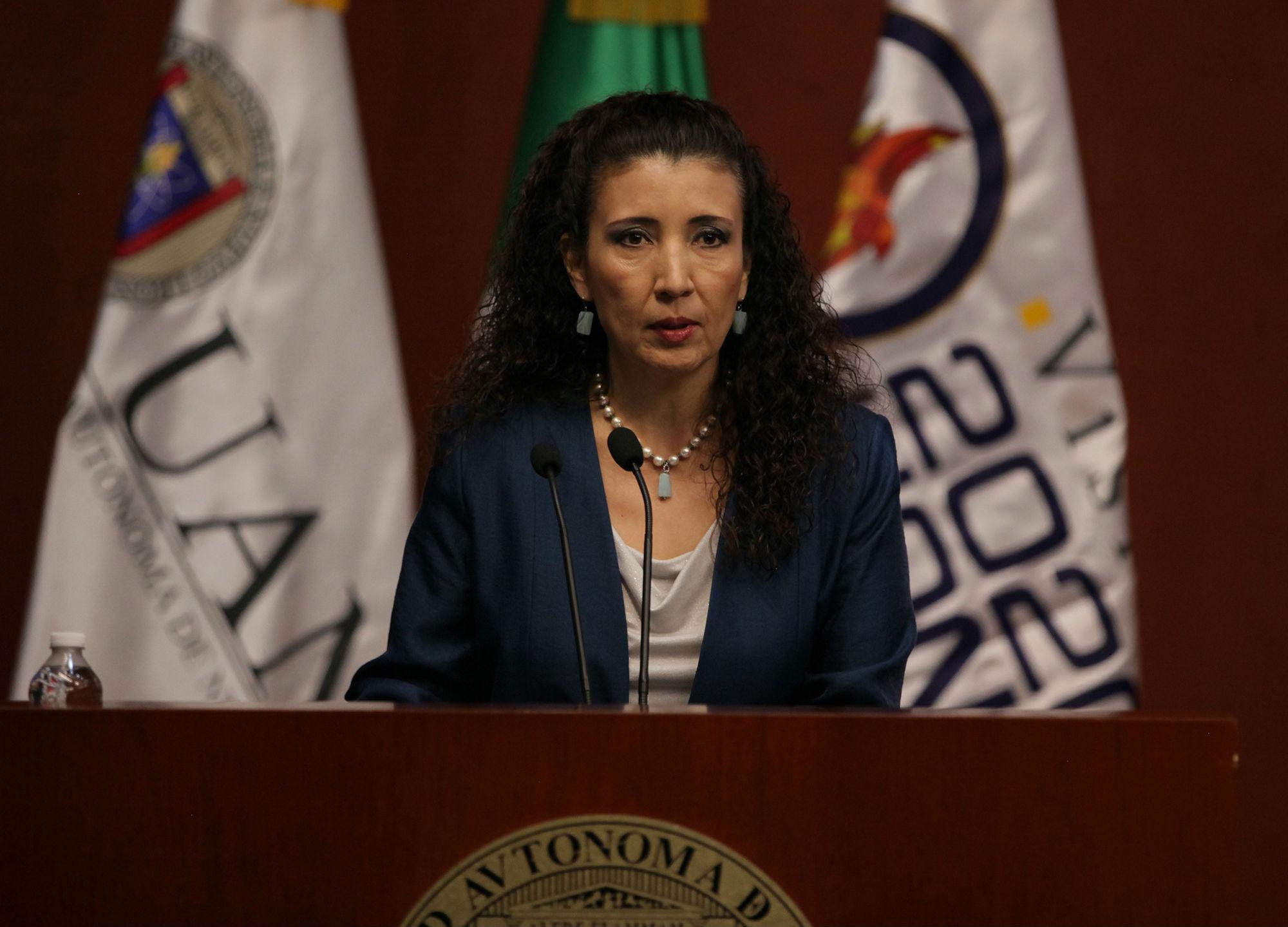 Dra. Luz Natalia Berrún Castañón, Secretaria de Asuntos Universitarios