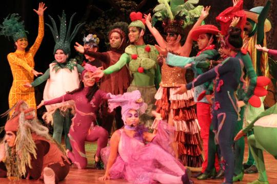 Obra de teatro Qué Plantón.