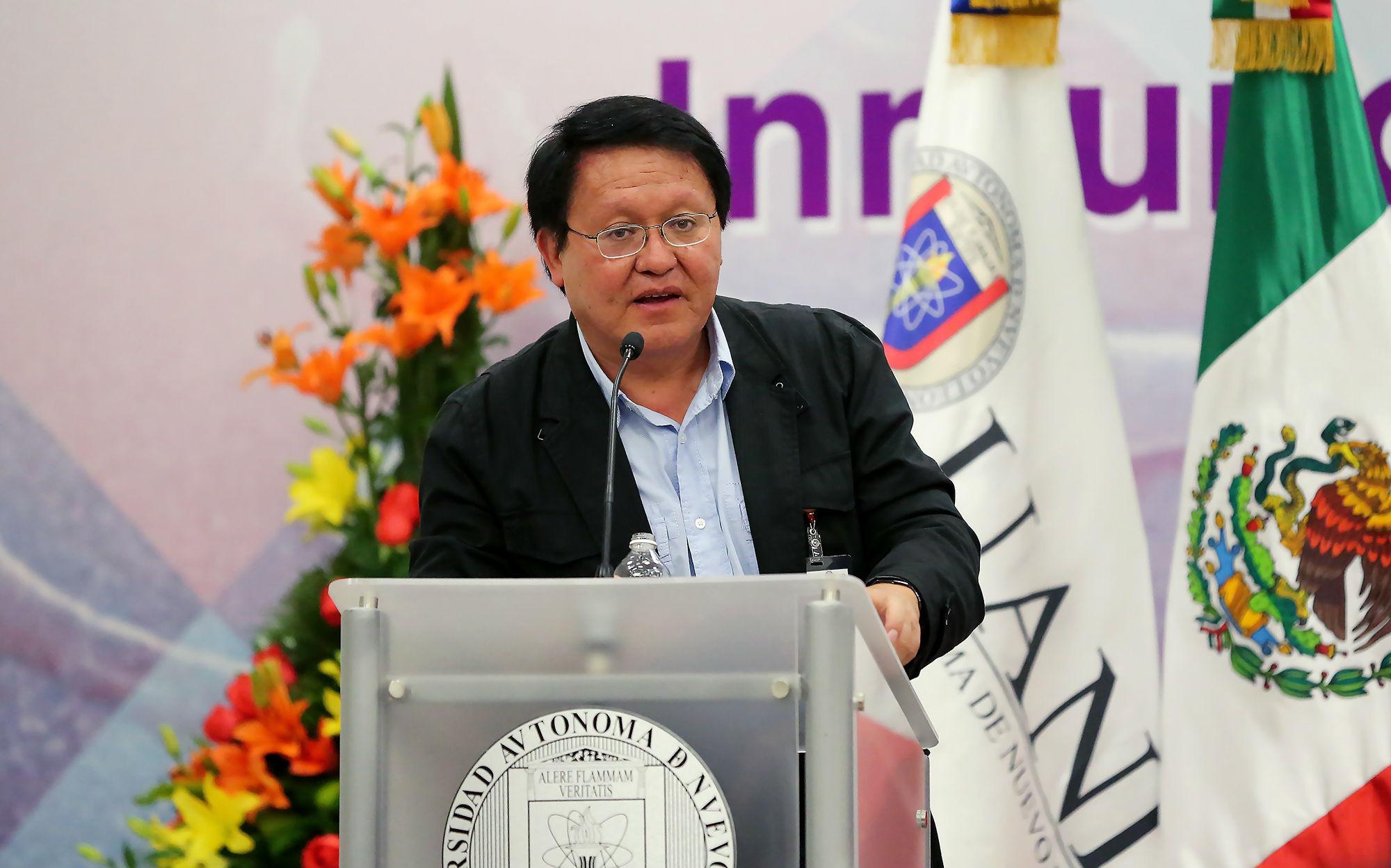 DR. Rogelio Hernández Pando, Departamento de Patología Experimental del Instituto Nacional de Ciencias Médicas y Nutrición