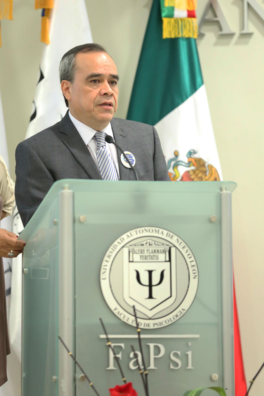 Mensaje del director de la FaPsi, José Armando Peña Moreno