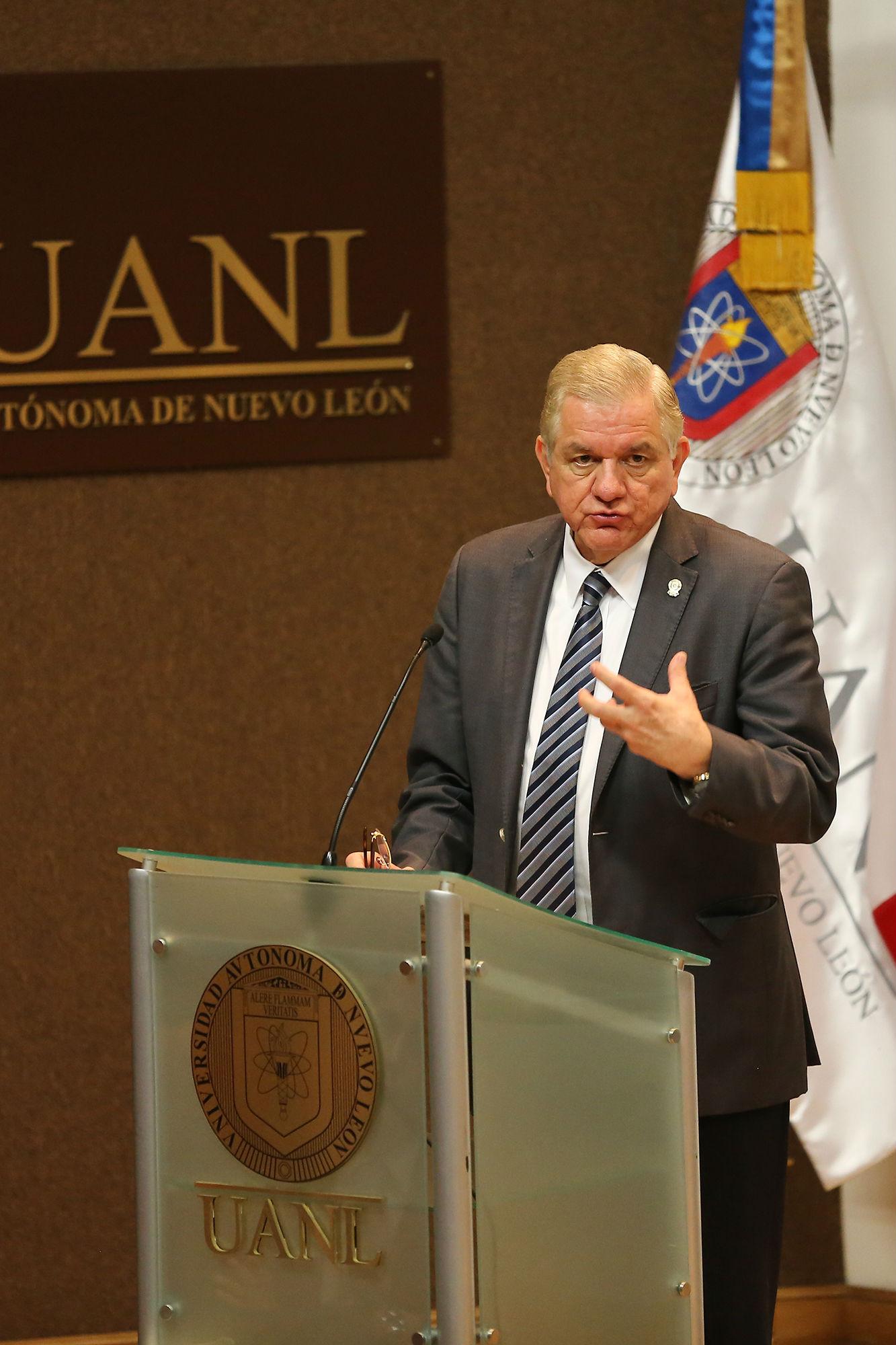 Mensaje del rector de la UANL