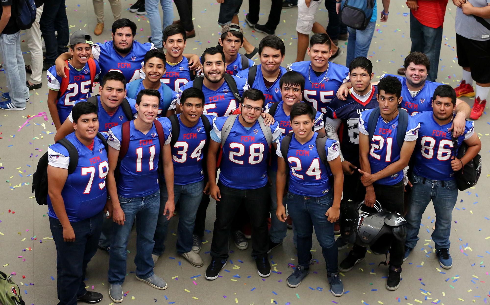 Equipo de Fútbol Americano de la Facultad de Ciencias Físico Matemáticas