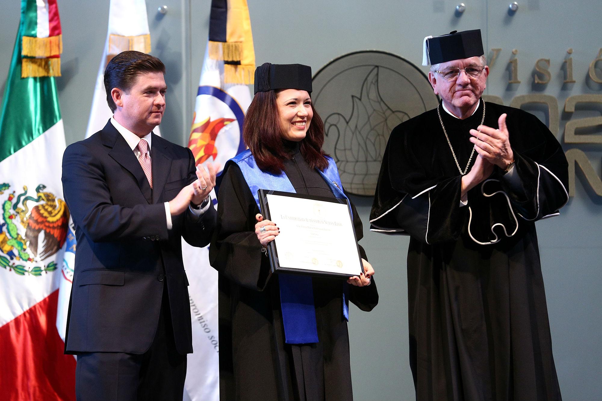 Doctor Honoris Causa a la Dra. Elena María Rodríguez Falcón