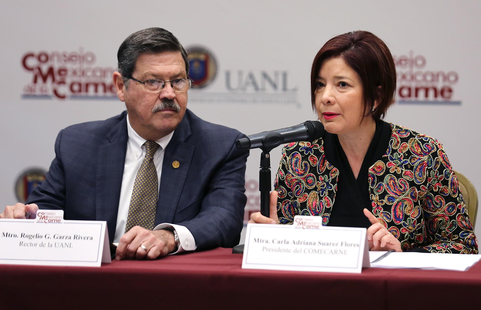 Carla Adriana Suárez Flores, Presidenta de COMECARNE