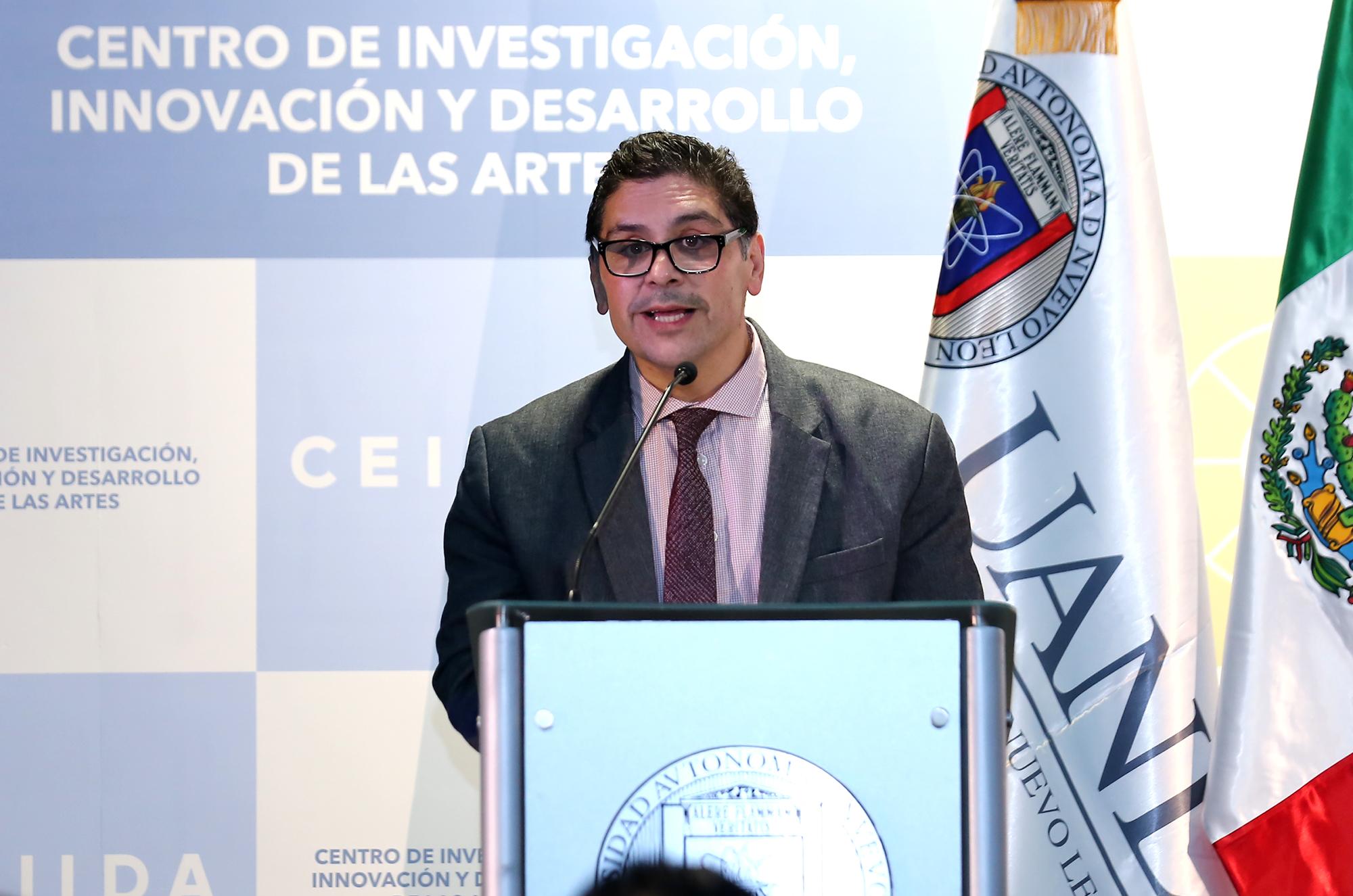 Celso José Garza Acuña, Secretario de Extensión y Cultura de la UANL