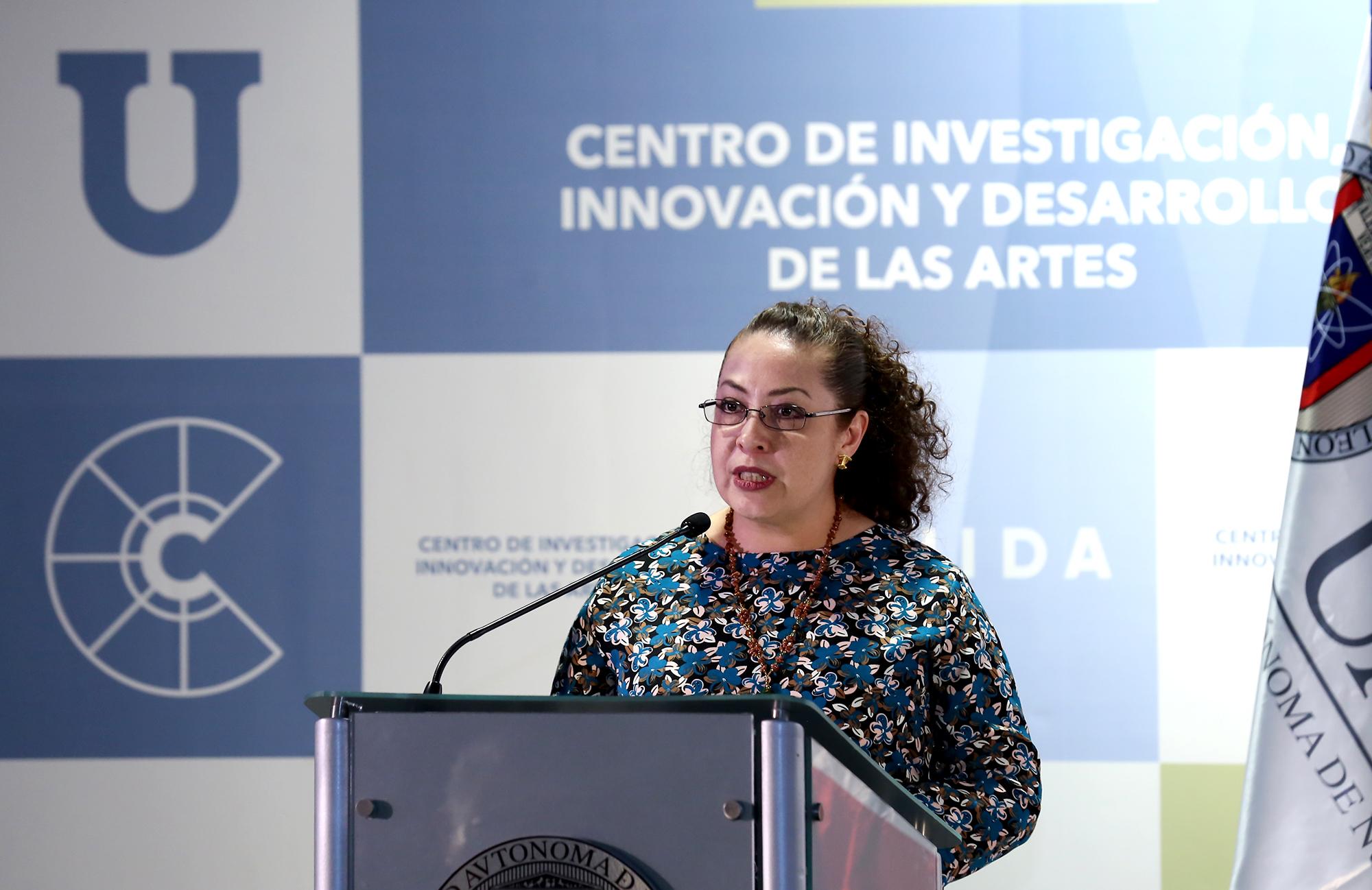 Claudia del Pilar Ortega González, Subdirectora de Investigación Artística del INBAL