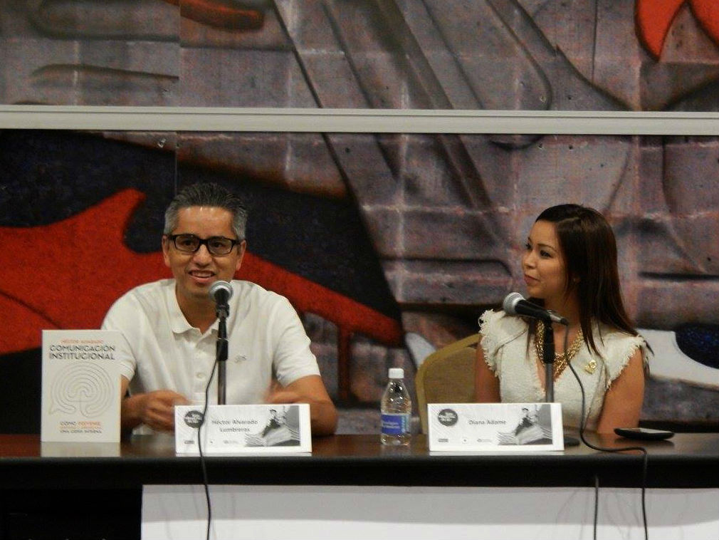 Se contó con la participación de Diana Adame Castillo, Coordinadora General de Comunicación Social del Gobierno del Estado
