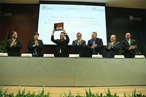 Acreditan Maestría en Relaciones Internacionales de la UANL