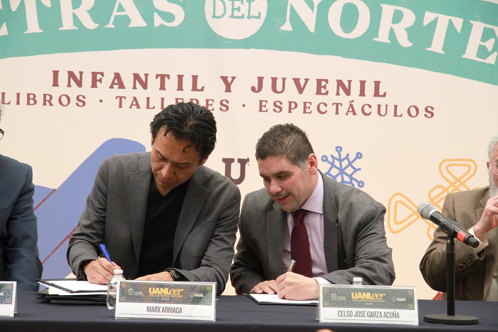 UANL firma convenio de colaboración con Dirección General de Bibliotecas