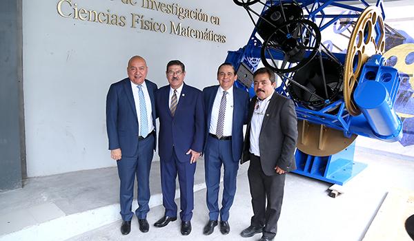 UANL diseña y construye primer telescopio en México