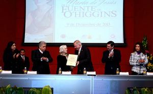 La UANL reconoció a abogada y promotora cultural María de Jesús de la Fuente de O'Higgins