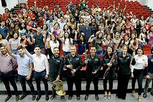 Ensambles de la OSUANL ofrecen conciertos simultáneos
