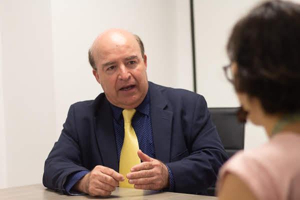 """Dr. Mario Benavides González, Jefe del Servicio de Cardiología del Hospital Universitario """"Dr. José Eleuterio González"""""""