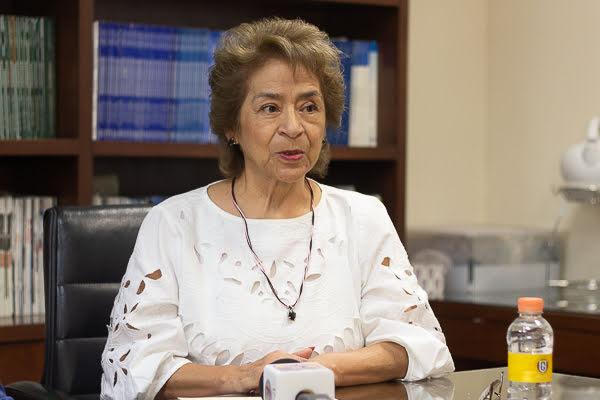 Antonieta Vázquez, receptora de transplante de hígado