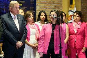 Universitarios en la lucha contra el cáncer de mama