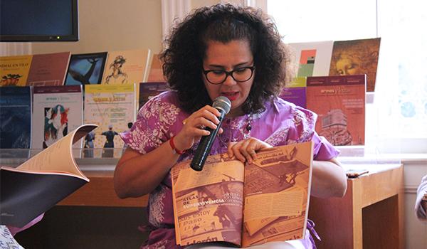 Rocío Cárdenas Pacheco, curadora e investigadora de artes