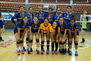 Sufren Tigrillas para ganar en voleibol; Tigres muestran fortaleza
