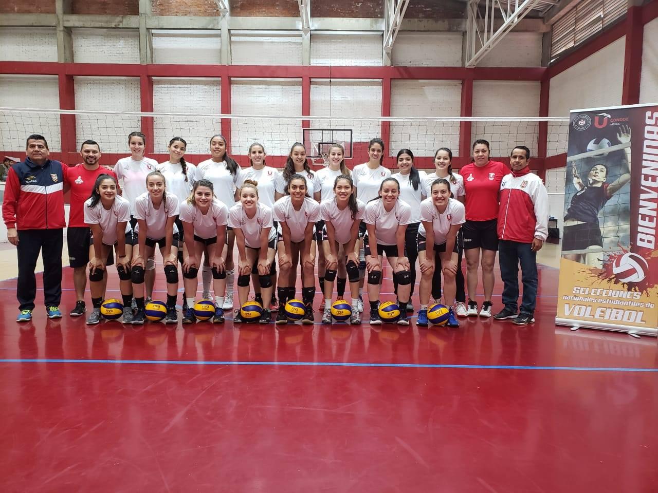 Selección de Voleibol universitaria