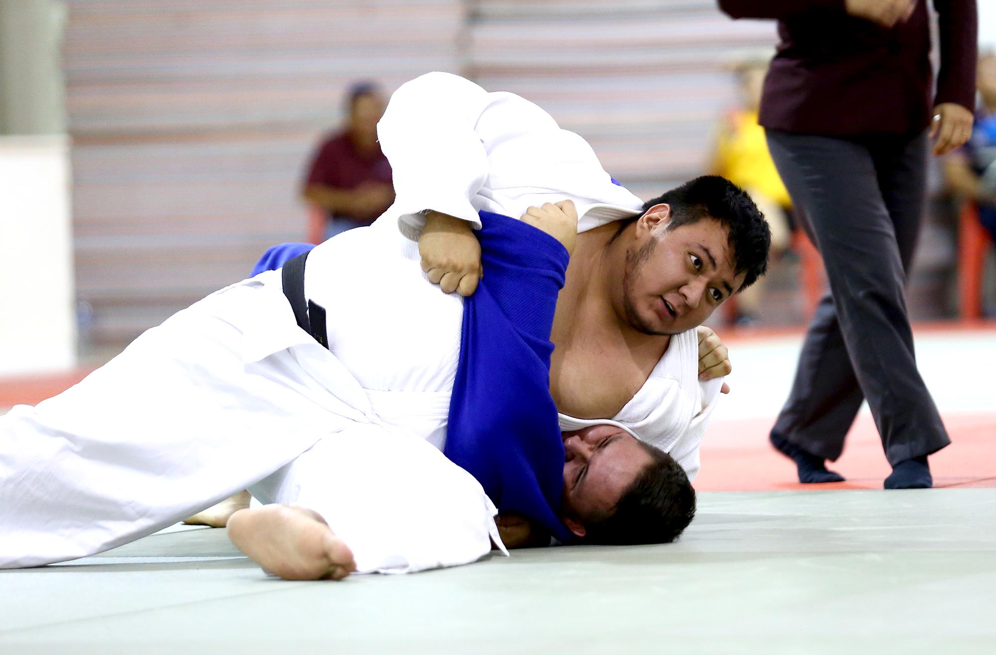 Alexis de León en Judo