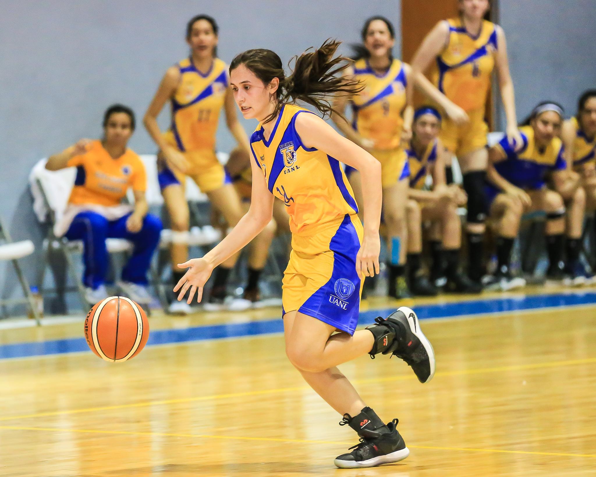 Priscila Adame en Basquetbol