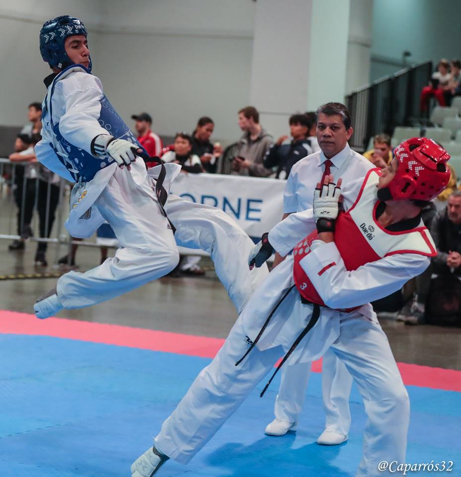 Abdón Rivera de Tae Kwon Do a Universiada Mundial