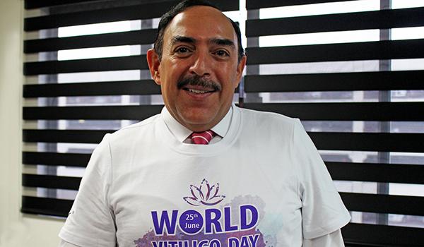 Jorge Ocampo Candiani, Jefe del Servicio de Dermatología del HU