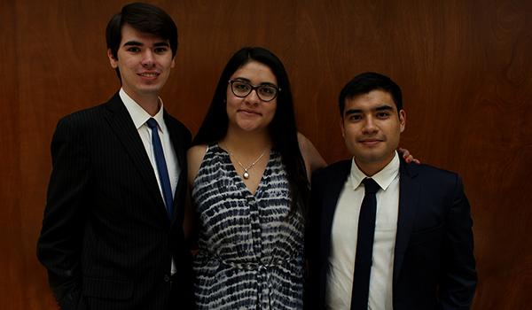 Estudiantes de la Facultad de Ciencias Políticas y Relaciones Internacionales que irán a estudiar al extranjero