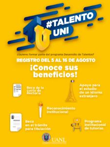 Únete al programa #TalentoUni
