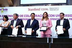 UANL and Stanford University partner in crime prevention