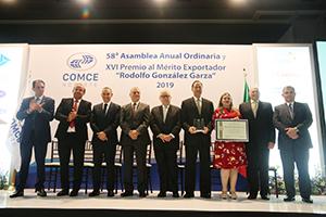 UANL recibe el Premio al Mérito Exportador 2019