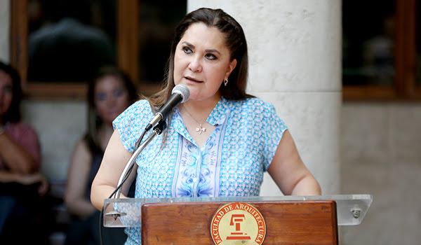 María Teresa Ledezma Elizondo, Directora de la Facultad de Arquitectura de la UANL
